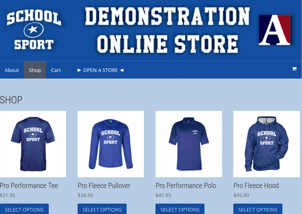 Team Spirit Wear Online Store