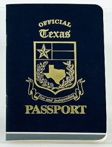 Novelty Passport Template