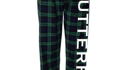 Swimming flannel pants