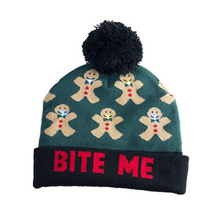 Custom Knit-In Beanies