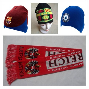 Custom Scarves and Beanies